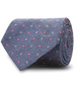 The Blue Abott Tie