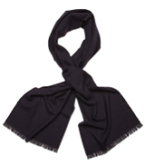 The Navy Tomlyn Cashmere Scarf