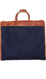 The Navy Dwyer Garment Bag