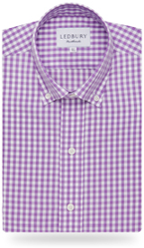 The Purple Parker Button Down