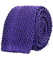 The Light Purple Caden Knit Tie