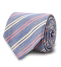 The Saunders Striped Tie