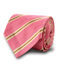The Pink Wythe Striped Tie