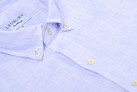 The Blue Wilton Linen