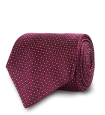 The Burgundy Mayfield Silk Tie