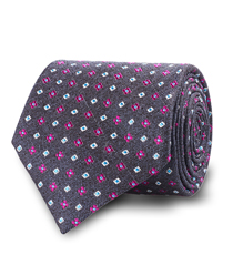 The Heather Grey Fowler Tie