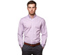 The Purple Micro-Check Slim Fit modelcrop