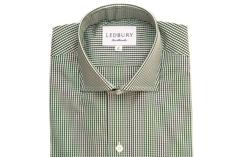 The Green Cross Cutaway Slim Fit shirt