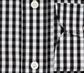 The Black Parker Gingham Slim Fit singlecuff