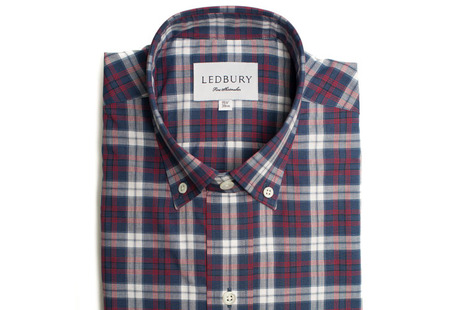 The Allen Plaid Slim Fit shirt