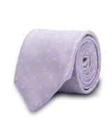 The Lavender Murdock Dot Tie