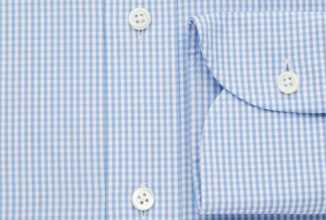 The Blue Gingham Worker singlecuff