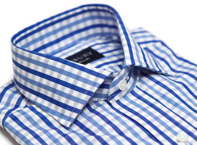 The Blue Starks Gingham collar