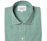 The Navy and Green Townsend Tattersall shirt