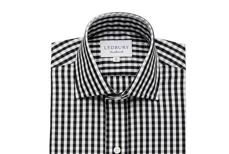 The Black Parker Gingham shirt