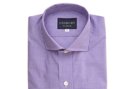 The Purple Cross Cutaway shirt