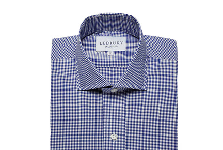 The Navy Cross Gingham shirt