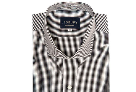 The Black Cross Gingham shirt