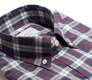 The Allen Plaid collar