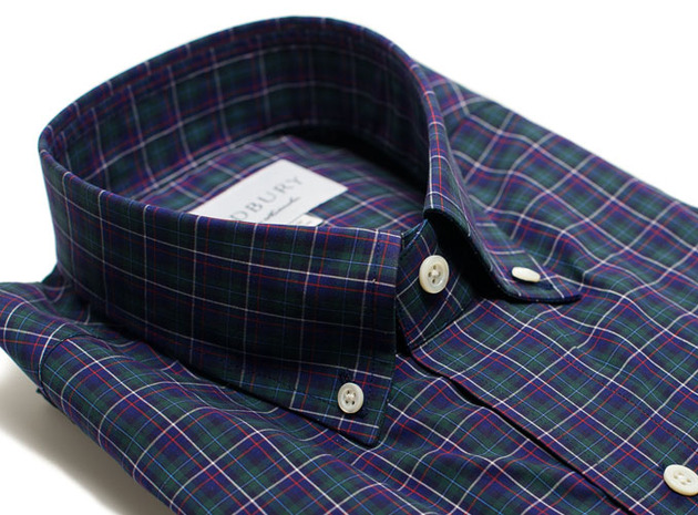 The Henderson Plaid collar