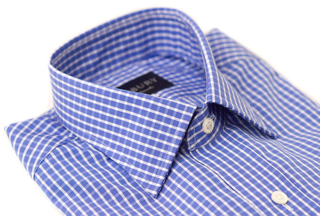 The Stanton Gingham collar