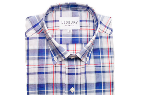 The Blue Crawford Plaid Slim shirt