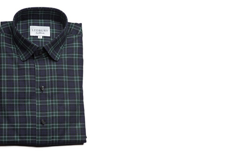 The Black Watch Roosevelt Slim Fit shirt