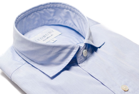 The Coleman Chambray Slim Fit collar