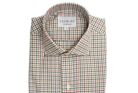 The Green and Red Madison Twill shirt