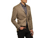 The Brown Huxley Sport Coat Slim Fit modelcrop