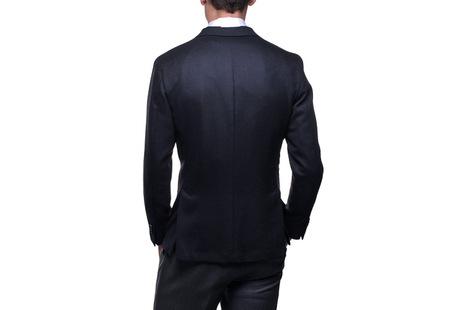 The Blue Paton Blazer Slim Fit shirt