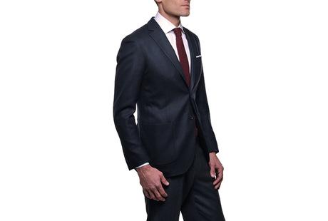 The Blue Paton Blazer Slim Fit modelcrop
