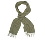The Green Camden Lambswool Scarf collar