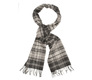 The Grey Truit Cashmere Scarf collar