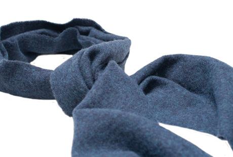 The Blue Camden Lambswool Scarf shirt