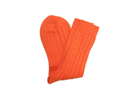 The Orange Alastair Sock shirt