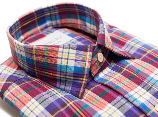 The Burke Flannel collar