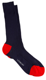 The Navy Elden Sock