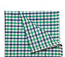 The Braxton Starks Gingham Pocket Square