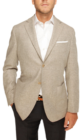 The Heathered Grey Eaton Sport Coat