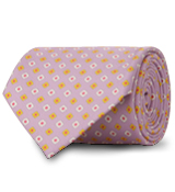 The Purple Chatham Dot Tie