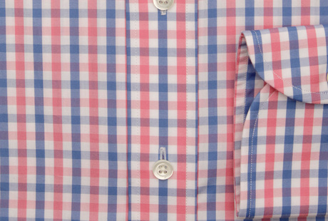 The Pink and Blue Starks Gingham