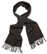 The Dark Grey Camden Lambswool Scarf