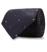 The Purple Turner Pindot Tie